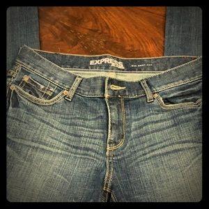 Express Eva Boot Cut women's jeans